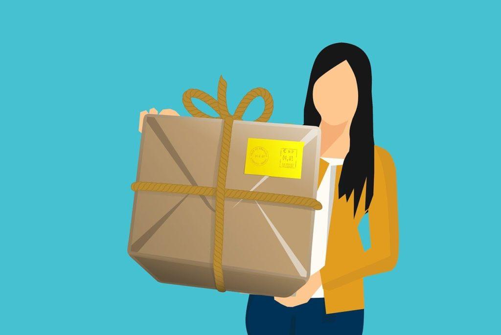 warehouse, shipping, box